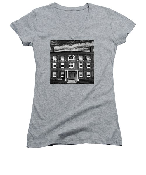 Women's V-Neck featuring the photograph Elephant Hotel by Eric Lake