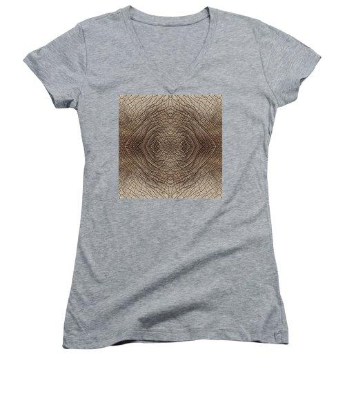 Elephant Skin Women's V-Neck T-Shirt