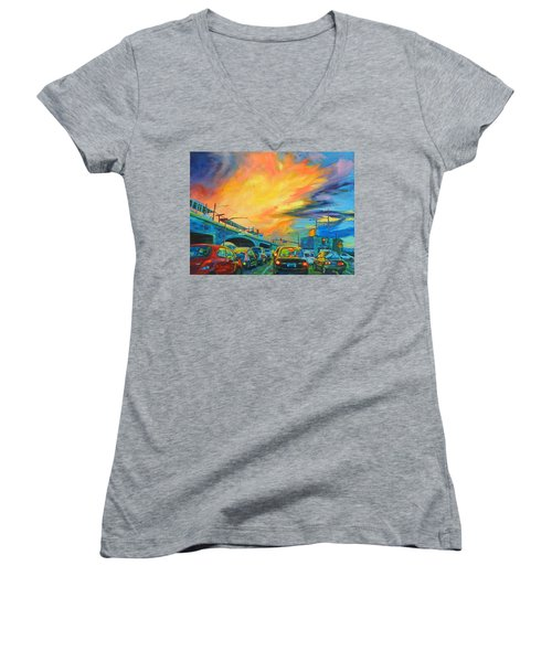 Elevated Women's V-Neck T-Shirt
