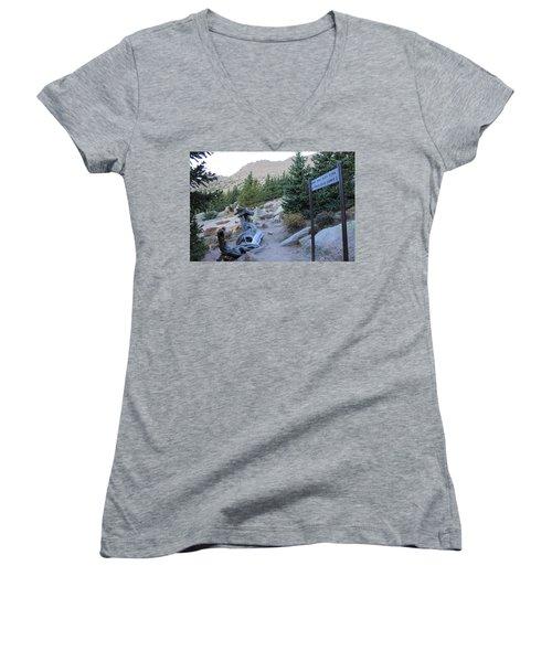 Elevation 11,500 Women's V-Neck T-Shirt