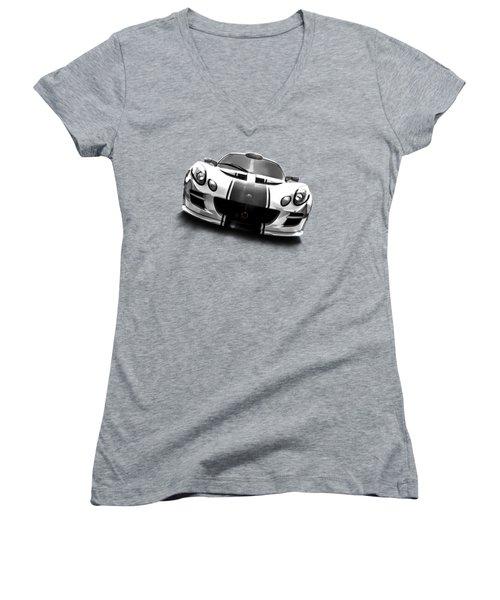 Elise Women's V-Neck T-Shirt (Junior Cut) by Douglas Pittman