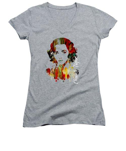 Elizabeth Taylor Collection Women's V-Neck T-Shirt