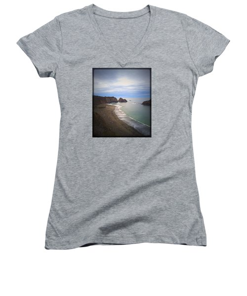 Elk Beach Women's V-Neck (Athletic Fit)