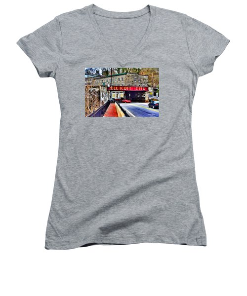 Ellicott City Women's V-Neck T-Shirt