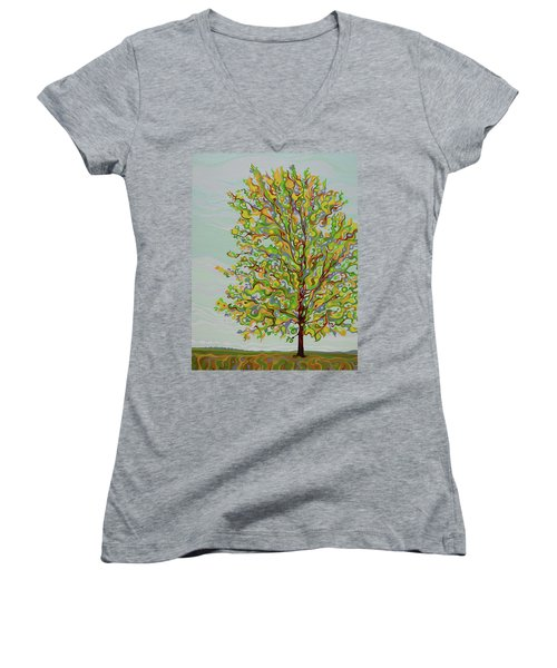 Ellie's Tree Women's V-Neck