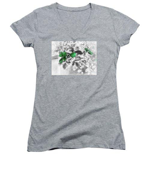 Emerald Green Of Ireland Women's V-Neck