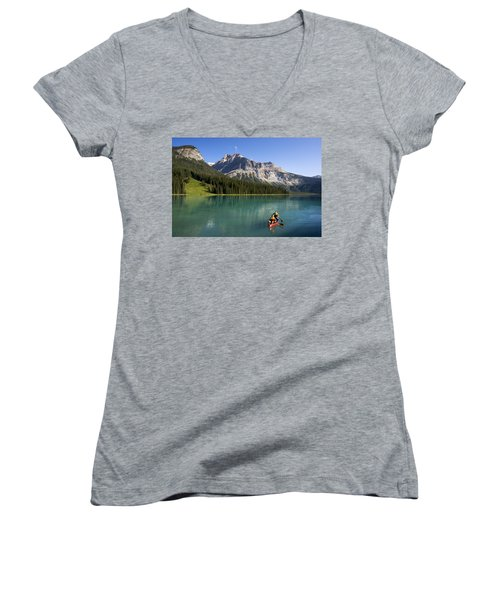 Emerald Lake Women's V-Neck (Athletic Fit)