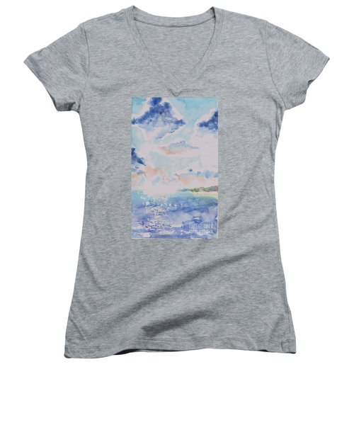 Emerging Sun 2 Women's V-Neck