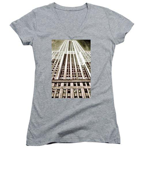 Empire State Building Women's V-Neck