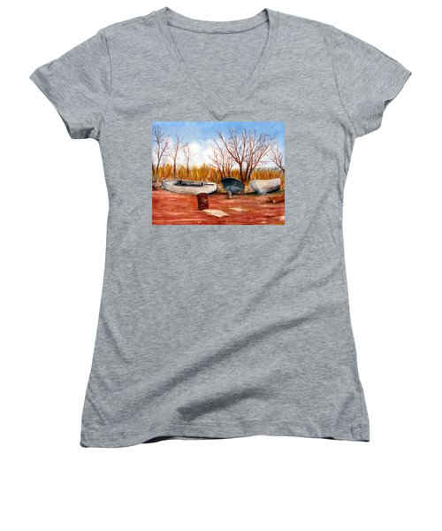 Encroachment In Belford Women's V-Neck T-Shirt