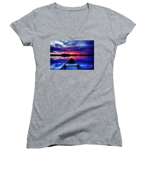 End Of Day Women's V-Neck