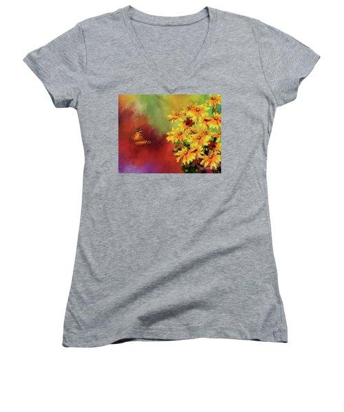 End Of Summer Women's V-Neck T-Shirt