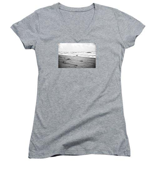 End Of The Season Padre 12 Women's V-Neck T-Shirt