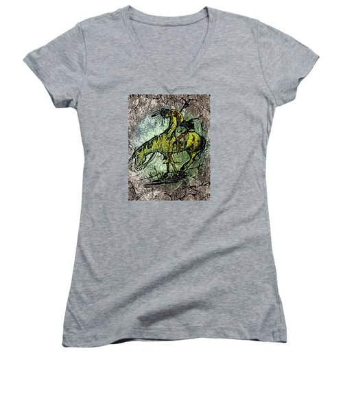 End Of The Trail 2 Women's V-Neck T-Shirt