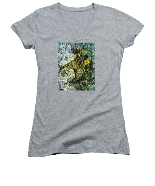End Of The Trail 5 Women's V-Neck T-Shirt