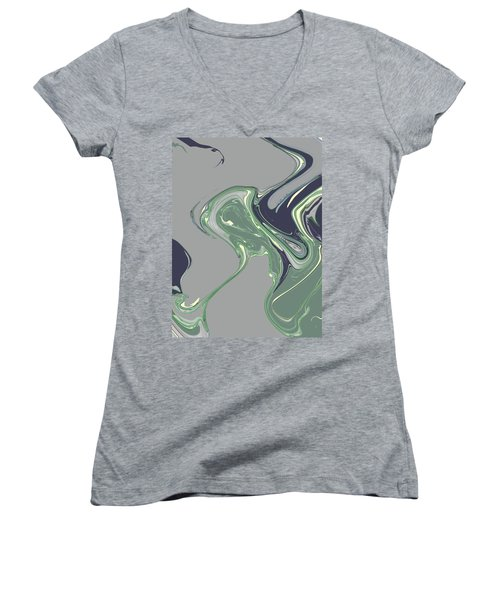 Endpapers Women's V-Neck T-Shirt