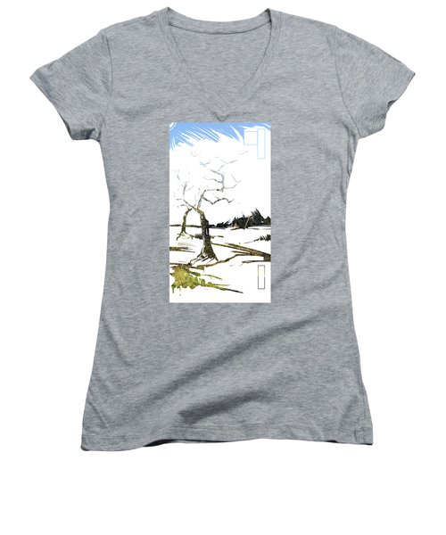Energy . Tree Women's V-Neck