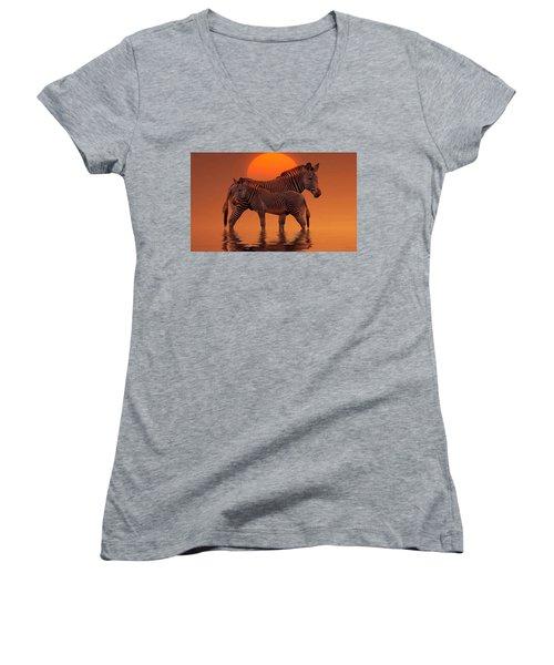 Enjoy Life Women's V-Neck T-Shirt
