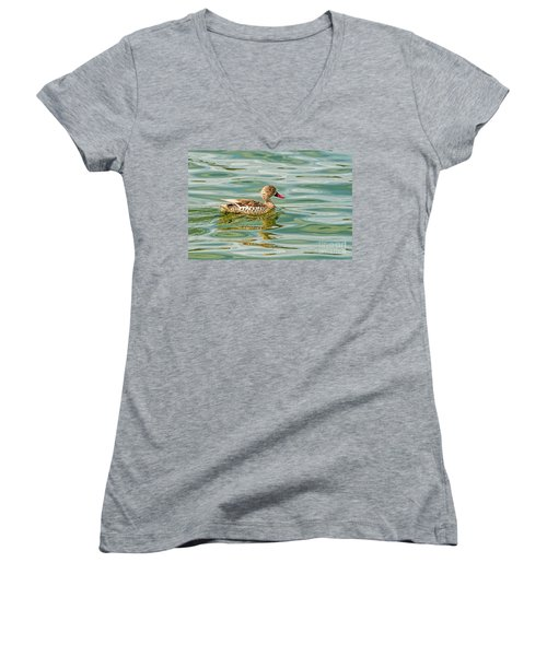Enjoying Women's V-Neck T-Shirt
