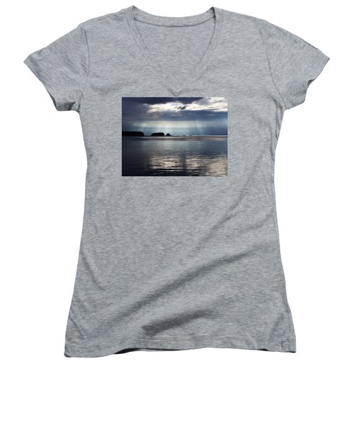 Enlightened Women's V-Neck T-Shirt