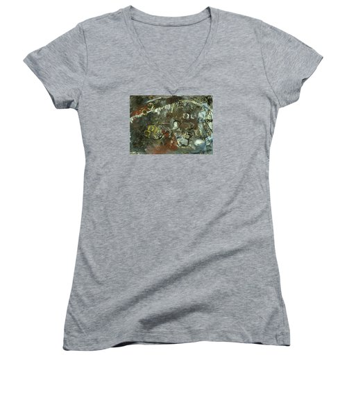 Escape The Whirlwind #2 Women's V-Neck T-Shirt