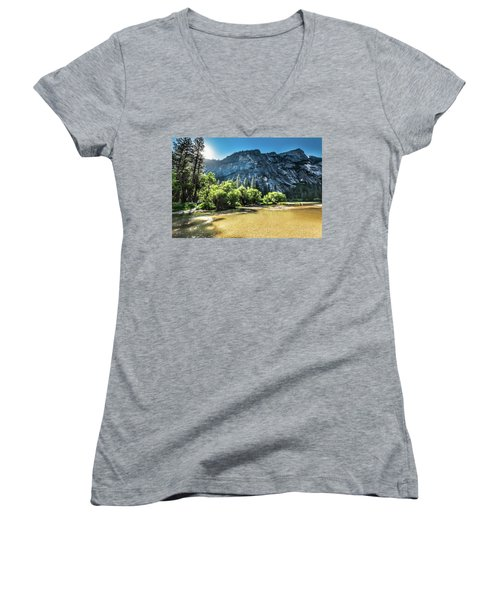 Eve Approaches- Women's V-Neck