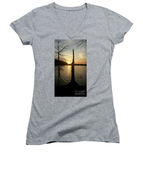 Evening Thoughts Women's V-Neck T-Shirt