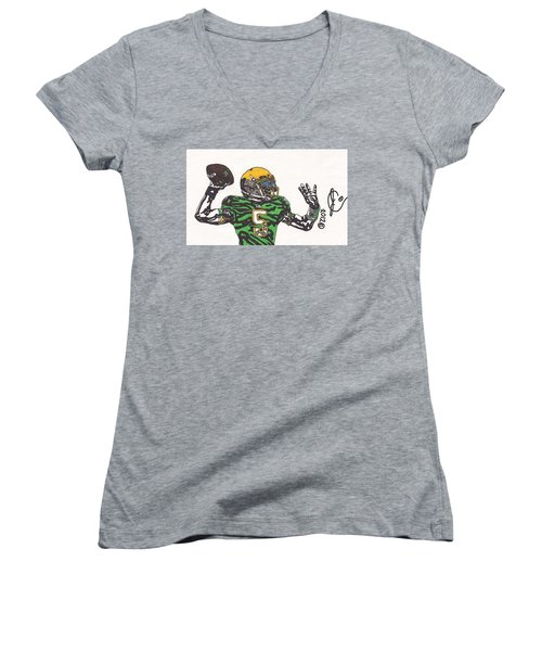Everett Golson 1 Women's V-Neck T-Shirt
