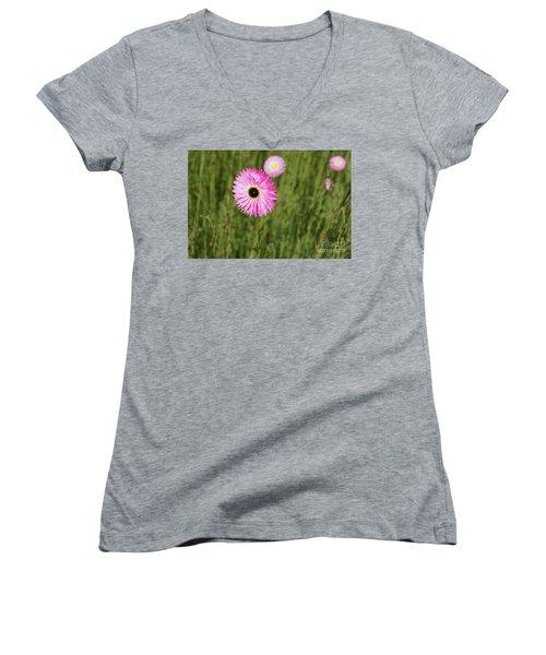 Everlasting  Women's V-Neck T-Shirt (Junior Cut) by Cassandra Buckley