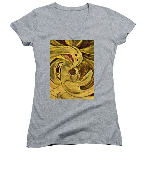 Evolution -  From Birth To Death Women's V-Neck T-Shirt