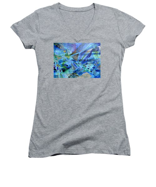 Excursions Of Vision Women's V-Neck
