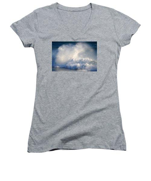Exhilaration  Women's V-Neck T-Shirt (Junior Cut) by Dianne Cowen