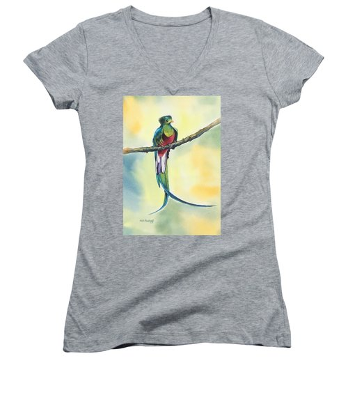 Exotic Bird Women's V-Neck