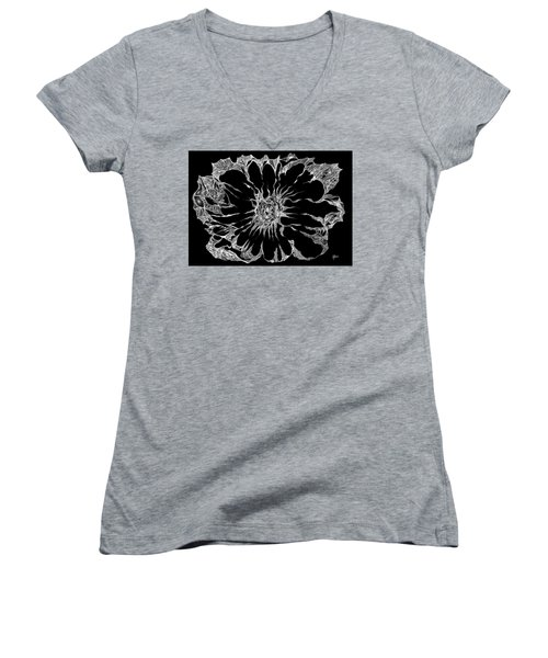Expanded Consciousness Women's V-Neck T-Shirt (Junior Cut) by Charles Cater