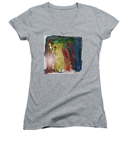 Experiment # 10 Women's V-Neck