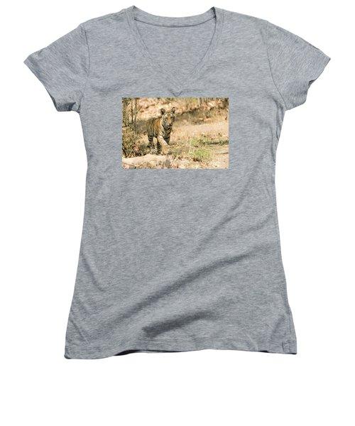 Exploring Women's V-Neck T-Shirt