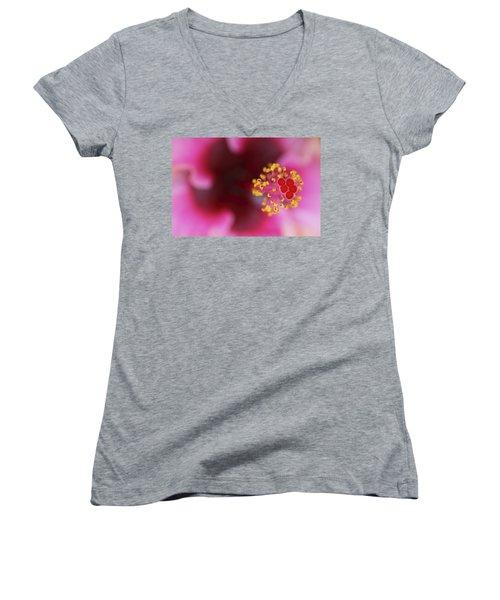 Extreme Hibiscus Women's V-Neck