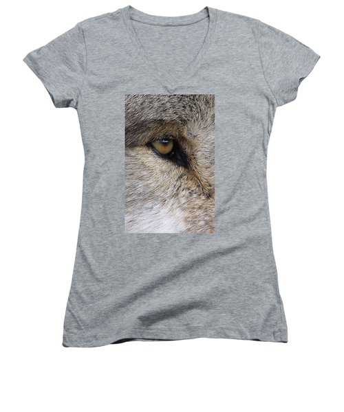 Eye Catcher Women's V-Neck T-Shirt