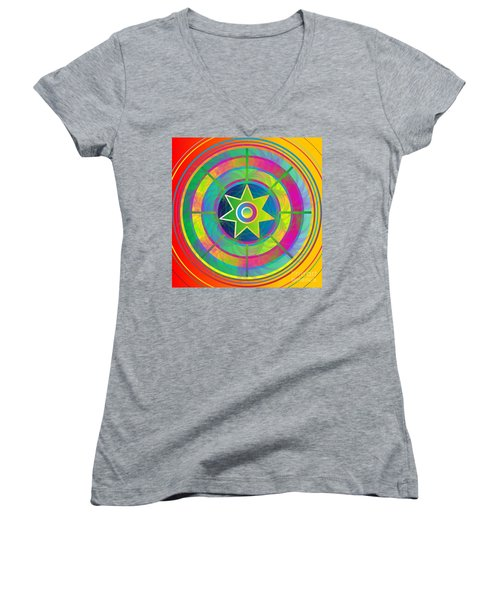 Eye Of Kanaloa 2012 Women's V-Neck (Athletic Fit)
