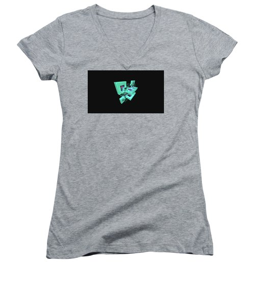 Facets Women's V-Neck