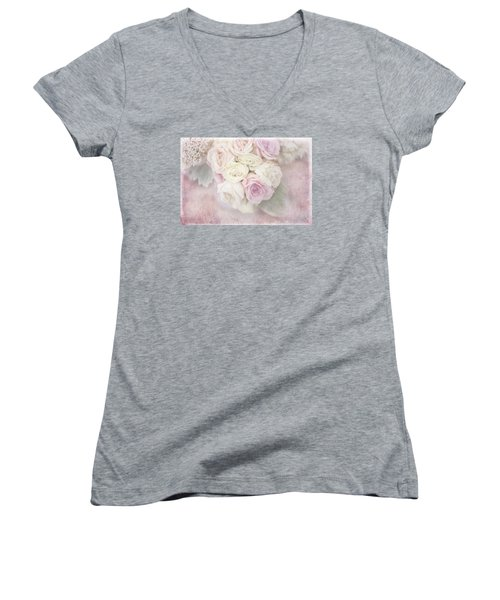 Faded Memories Women's V-Neck