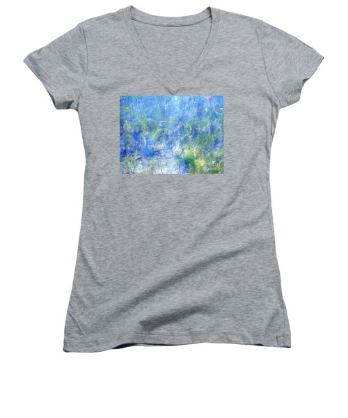 Fairy Ring Beneath The Surface Women's V-Neck T-Shirt