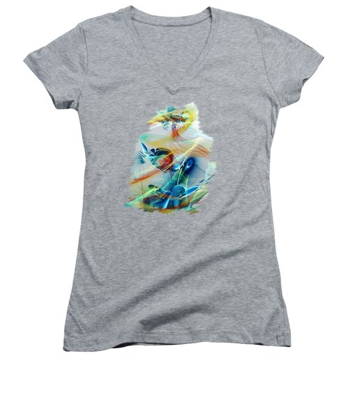 Fairy Tale Women's V-Neck T-Shirt (Junior Cut)