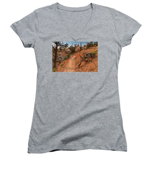 Fairyland Loop Trail Women's V-Neck (Athletic Fit)