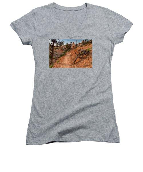 Fairyland Loop Trail Women's V-Neck T-Shirt