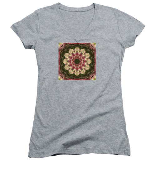 Faith Women's V-Neck T-Shirt (Junior Cut) by Bell And Todd