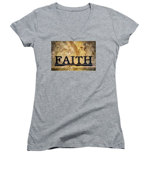 Faith Women's V-Neck (Athletic Fit)