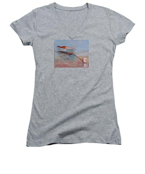 Faithful Dinghy Women's V-Neck T-Shirt