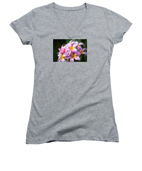 Fall Flowers V.2 Women's V-Neck