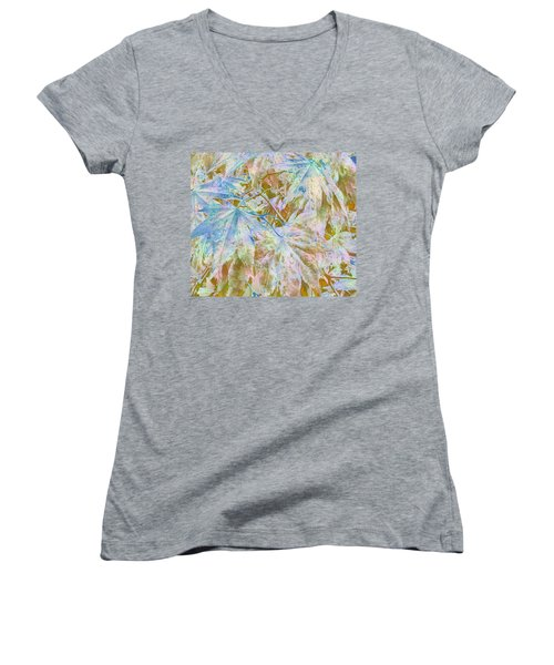 Fall Leaves #16 Women's V-Neck